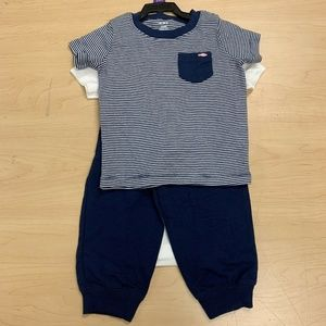 Carters Infant Boys 3 Piece Bear Outfit Pajamas